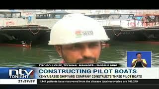 Kenyan based shipyard company constructs three pilot boats