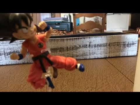 Kid Goku stop motion test