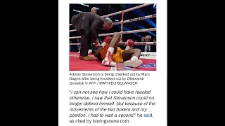 BREAKING NEWS: ADONIS STEVENSON COMES OUT OF COMA, BUT IS PARALYZED ON THE ENTIRE RIGHT SIDE OF BODY