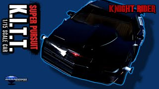 Diamond Select Knight rider Super Pursuit Mode Kitt 1/15 Car | Video Review