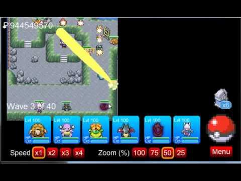Pokemon tower defense hacked epilogue les