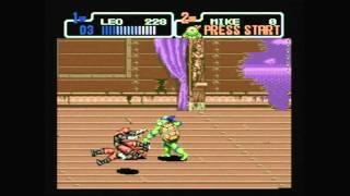 CGR Undertow - TEENAGE MUTANT NINJA TURTLES: THE HYPERSTONE HEIST for Sega Genesis Video Game Review