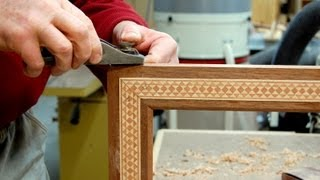 Picture Frames With Advanced Inlay Banding - Part 1