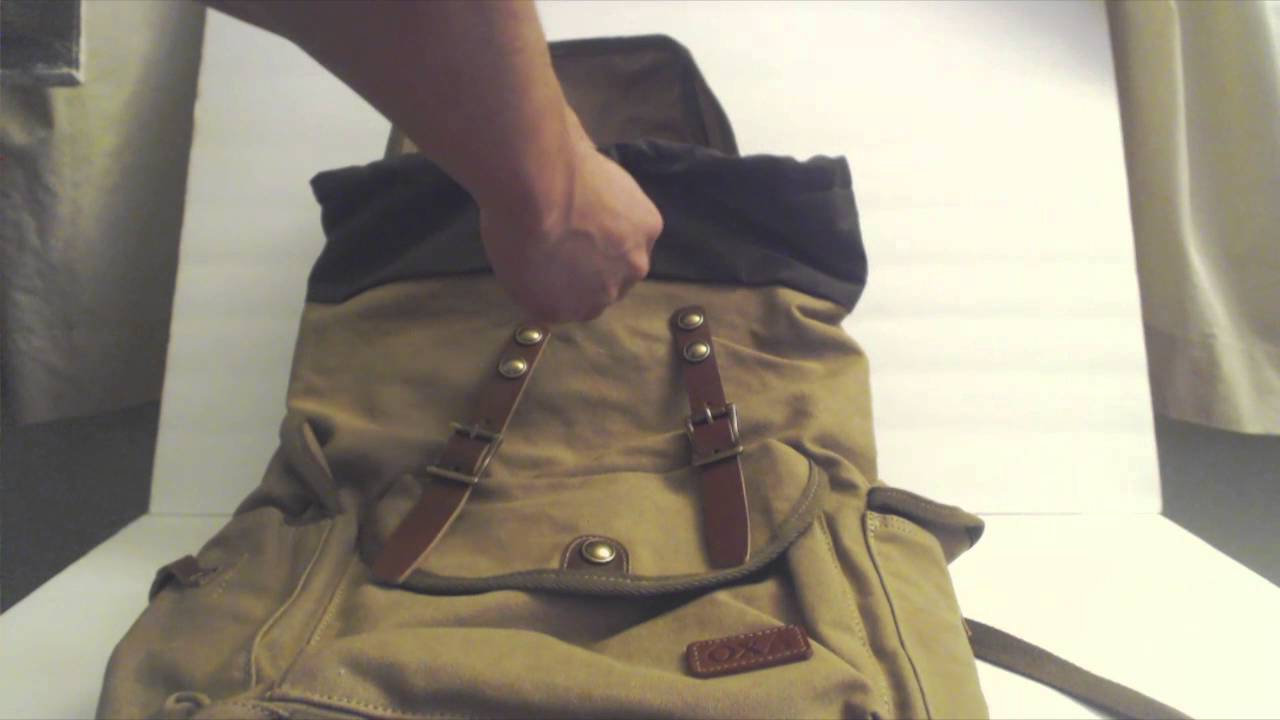 OXA Military Canvas Backpack Review (Style 48) - YouTube 3f3a66dfc2c58