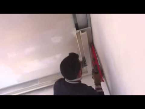 Cornice in cartongesso - YouTube