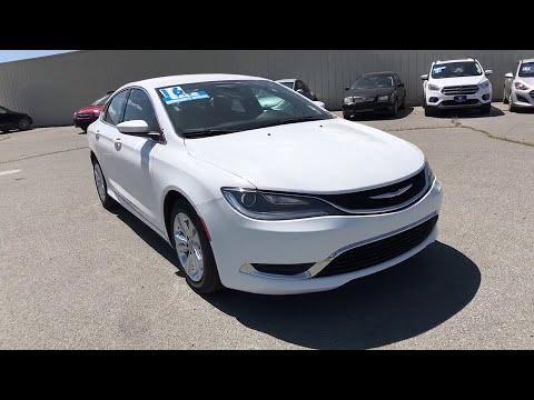 2016 Chrysler 200 Reno, Carson City, Northern Nevada, Roseville, Sparks, NV GN172721P