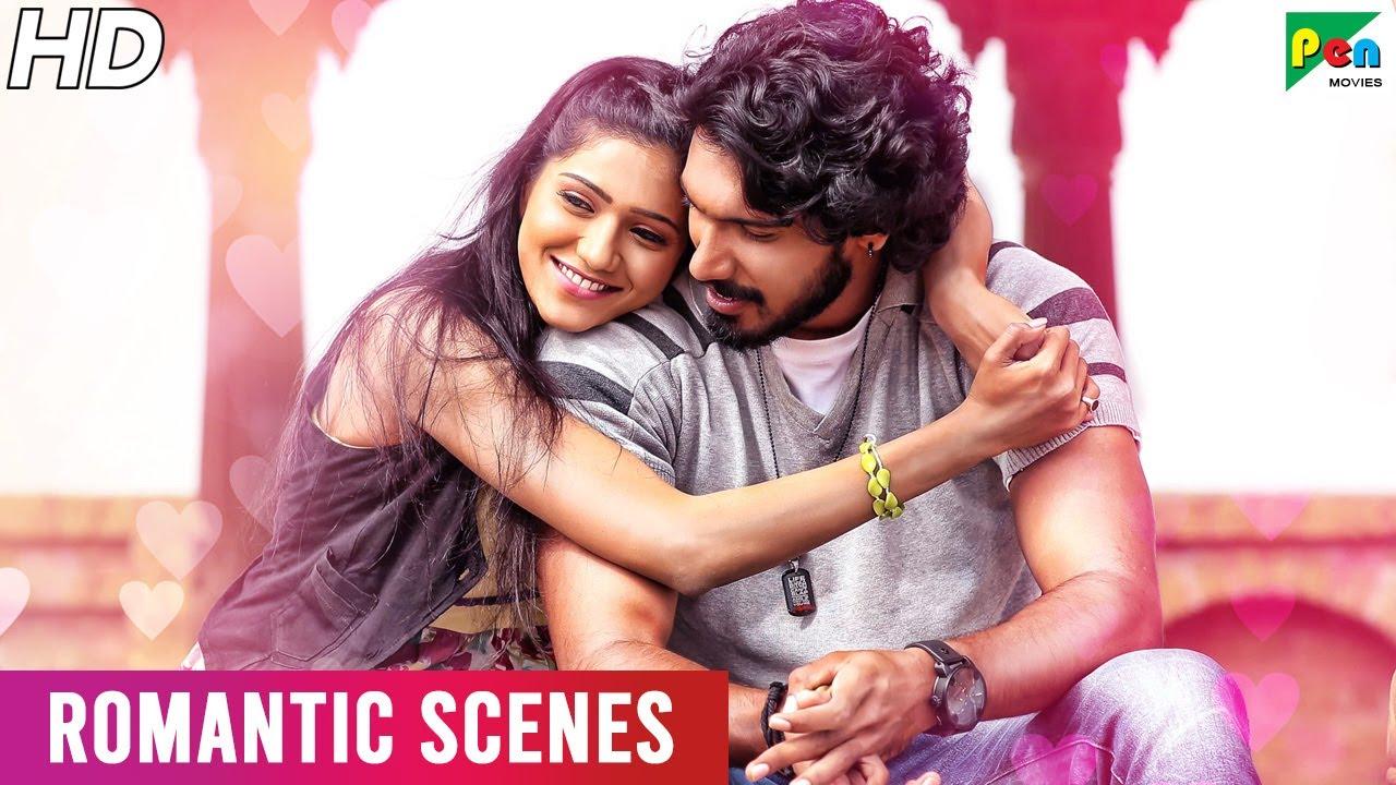 Love Story 2020 - Romantic Scenes | Hindi Dubbed Movie | O Pilla Nee Valla | Krishna, Monika Singh