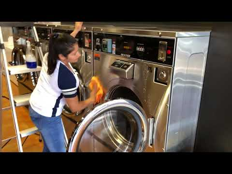 Wash & Go Laundry | Training Video How To Clean 4 Load Commercial Dexter Washer