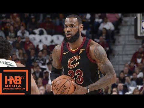 Cleveland Cavaliers vs Milwaukee Bucks 1st Half Highlights / March 19 / 2017-18 NBA Season