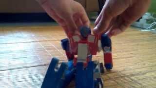 TF AOE - Transformable paper Optimus Prime (EvasionMode)