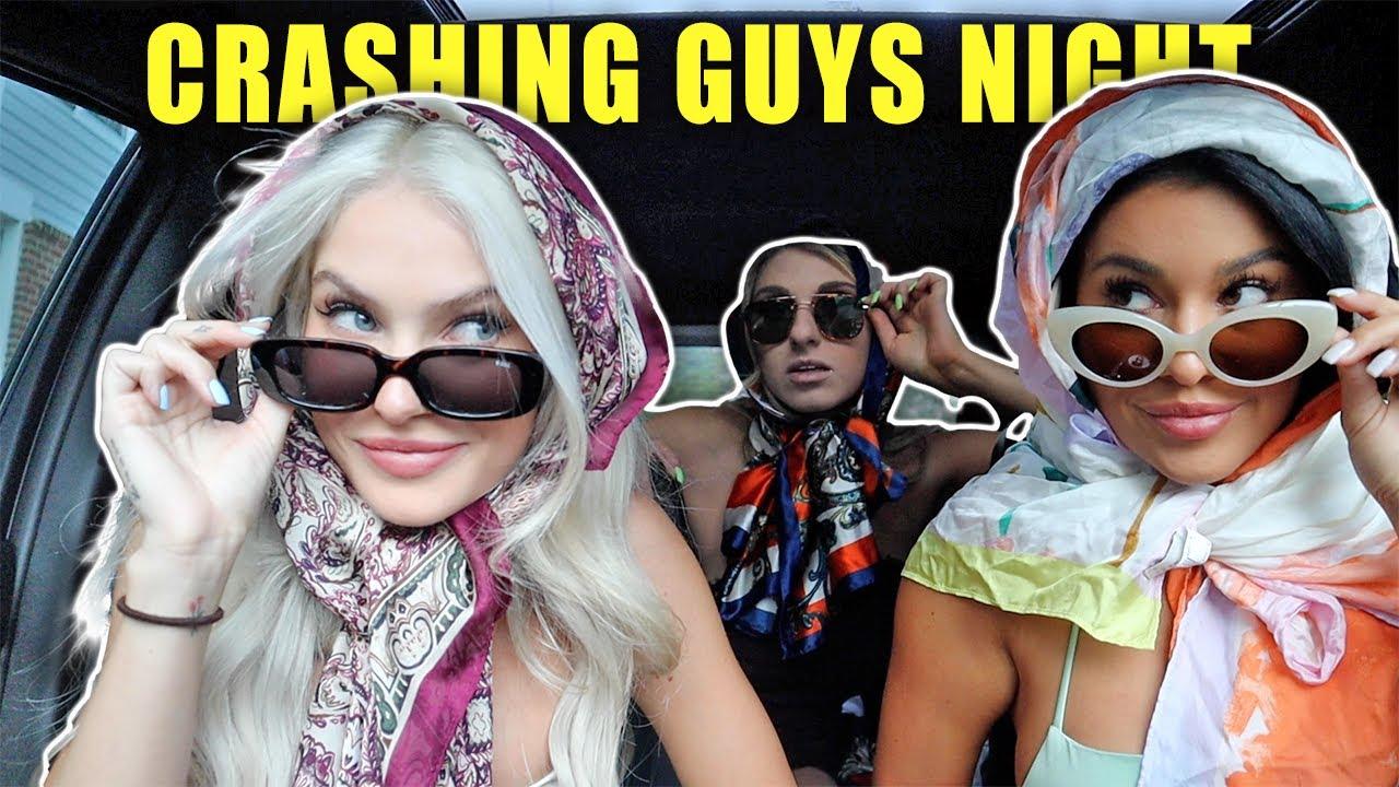 WE CRASHED GUYS NIGHT *they had no idea*