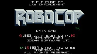 Game | Robocop Arcade Game Playthrough Deathless | Robocop Arcade Game Playthrough Deathless