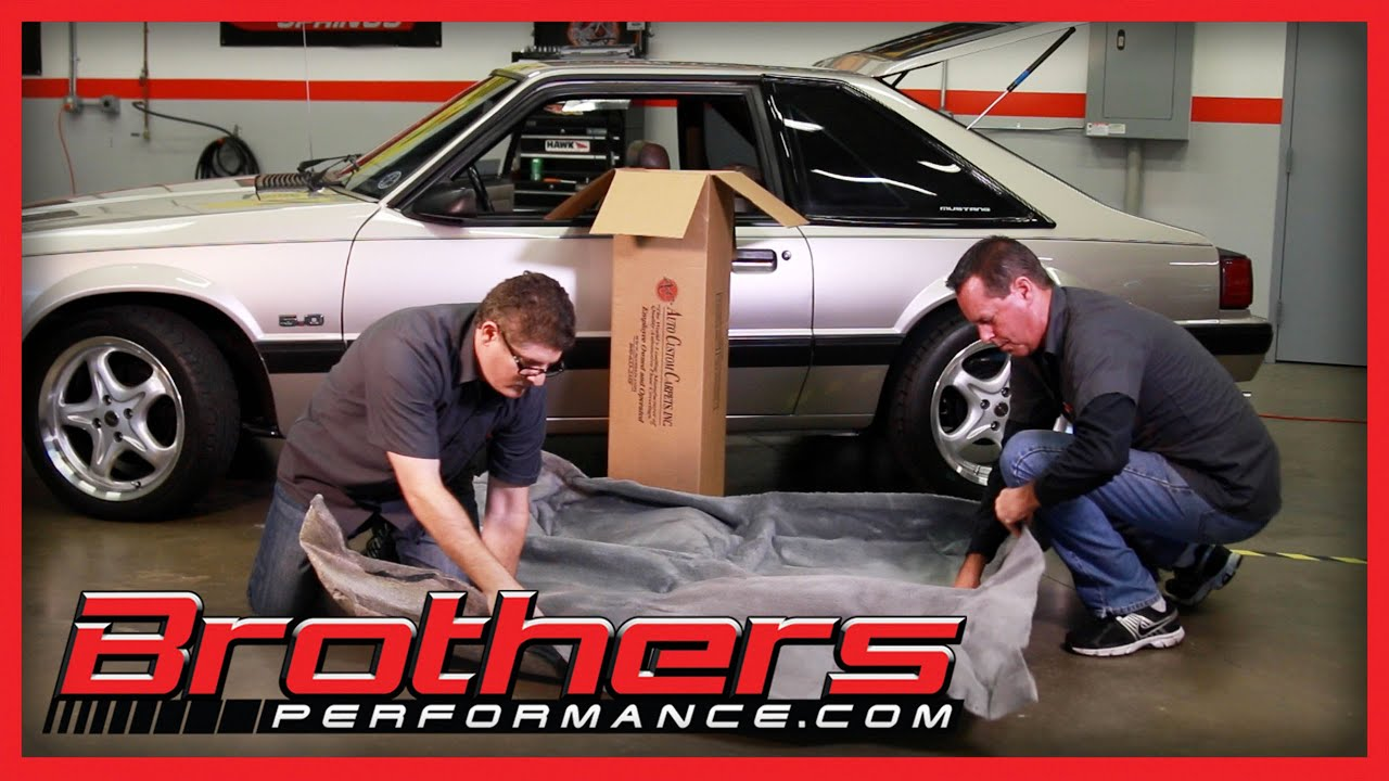 1979 2014 Ford Mustang Interior Carpet Kit Replacement And Installation How To Youtube