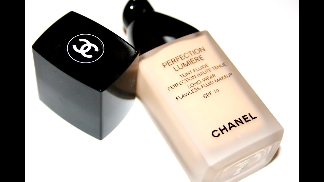 f5c311720ac62 Foundation WEAR Test | Chanel Perfection Lumière - YouTube