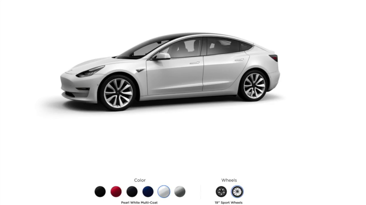 model 3 configurator is live youtube rh youtube com
