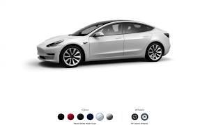 Model 3 Configurator is LIVE!