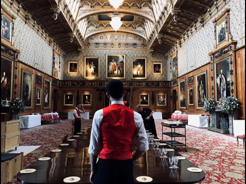 Waterloo Table At Windsor Castle