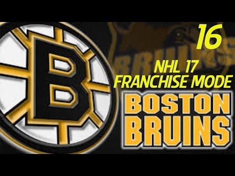 NHL 17 Franchise Mode: Boston Bruins S2 Episode 16 // Odd Start (XBone)