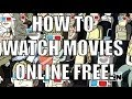 How to watch New Movies online FREE! (2013)