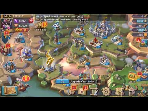 Lords Mobile - How To Grow As Fast As Possible!
