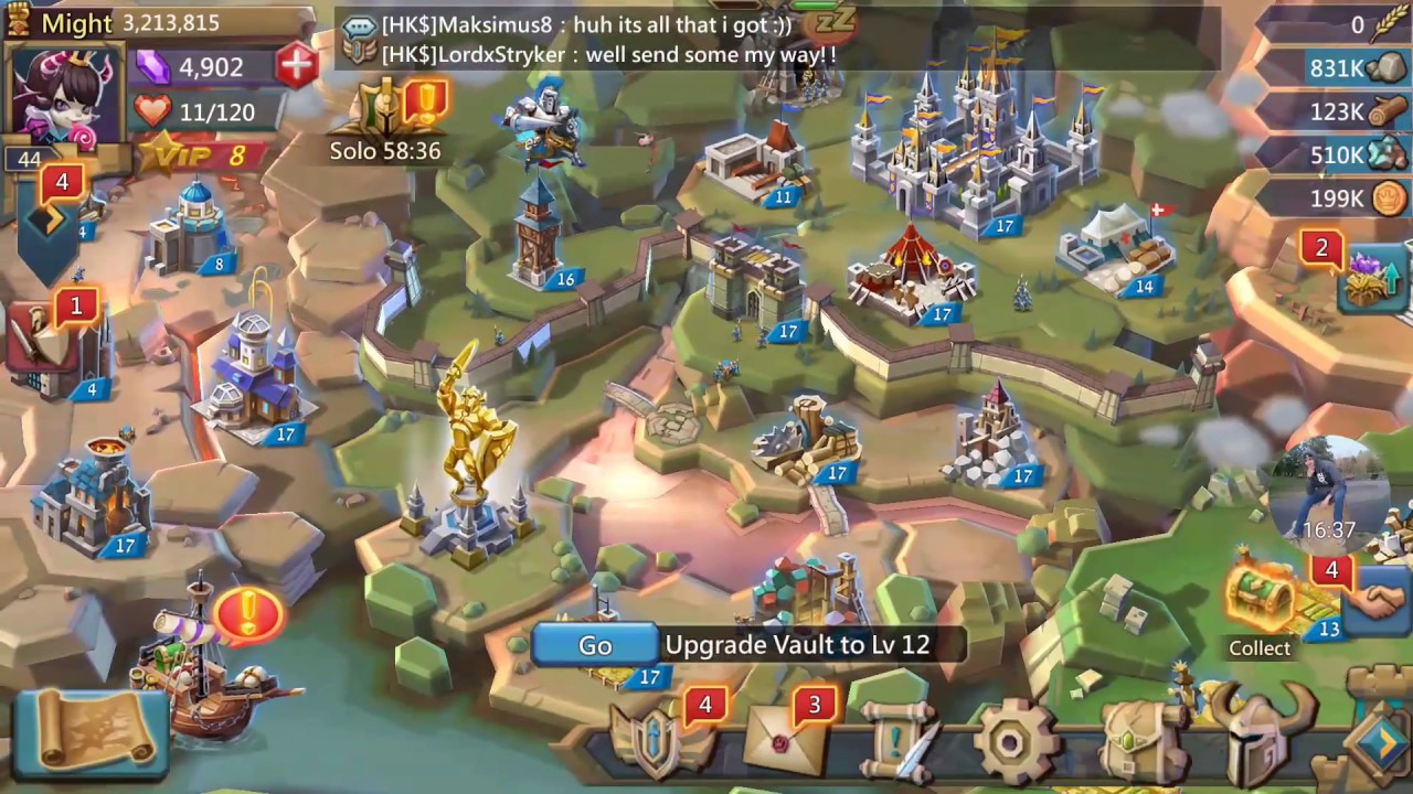 Lords Mobile - How To Grow As Fast As Possible! - YouTube лорд