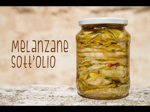 MELANZANE SOTT'OLIO - Ricetta