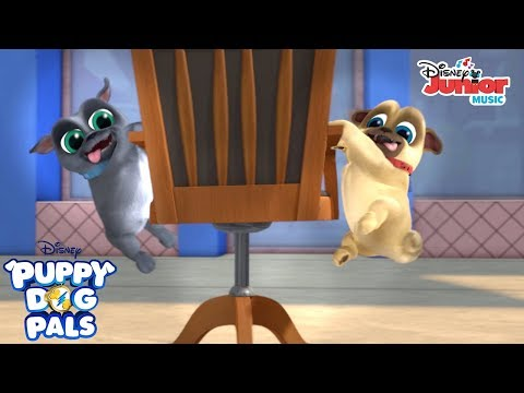 Watch Out | Music Video | Puppy Dog Pals | Disney Junior