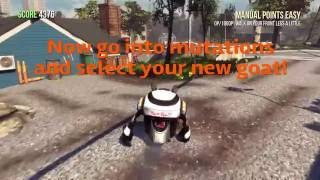 How to get robot goat | goat simulator
