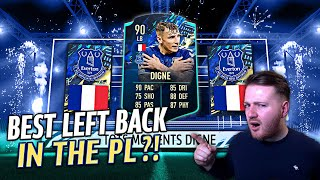 BEST LEFT-BACK IN THE PL?! | 90 TOTS MOMENTS LUCAS DIGNE PLAYER REVIEW! | FIFA 21 Ultimate Team