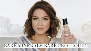 bareMinerals Bare Pro Liquid Foundation Review | Shelbey Wilson