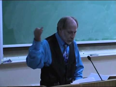 Dr. Stefan Schindler Lecture: A Re-awakening of the Bicameral Mind