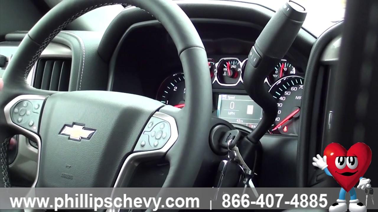 Phillips Chevrolet - 2017 Chevy Silverado – Steering Wheel ...