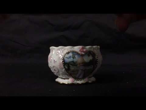 Precious Moments Music Box Jewelry Trinket Box Serenity Prayer Working Rare