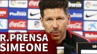 Real Sociedad-Atlético | Diario AS | Rueda de prensa completa de Simeone