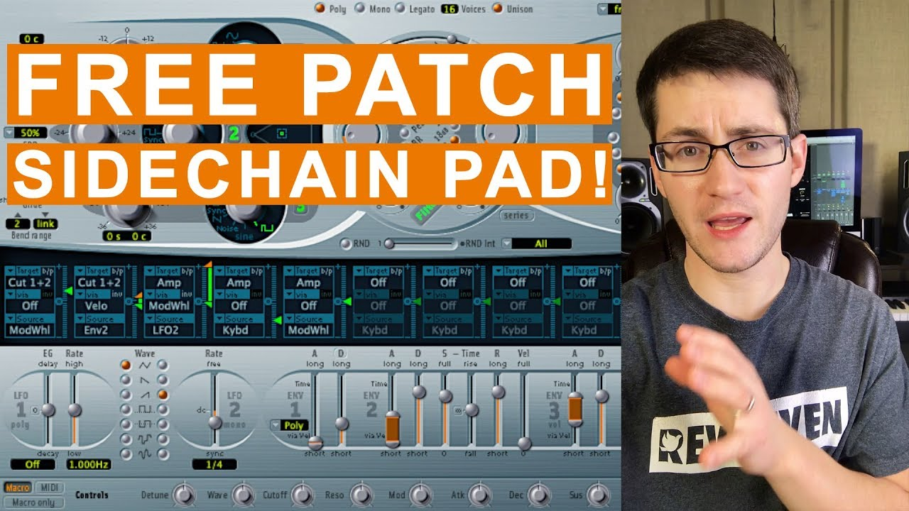 Free MainStage Worship Patch- Crisp Sidechain from Sunday Sounds