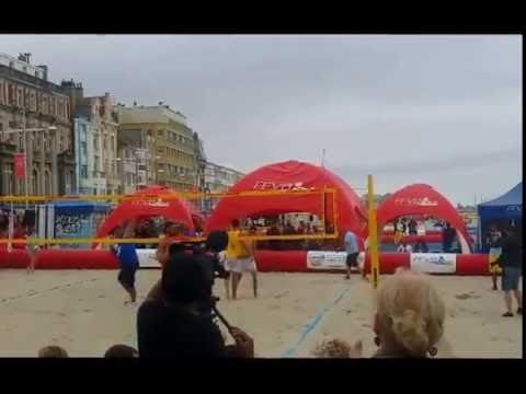 championnat de france 2016 dunkerque malo les bains coeur de l 39 lite du beach volley youtube. Black Bedroom Furniture Sets. Home Design Ideas