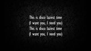Nidji - Disco Lazy Time (lirik)