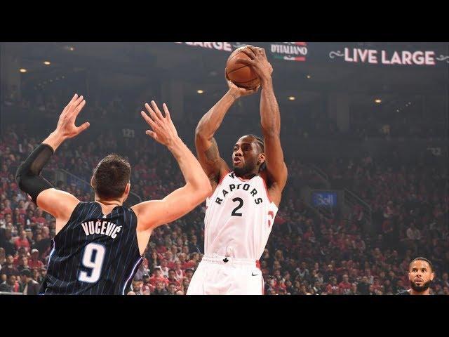 Kawhi Leonard 37 Pts Game 2 vs Magic! Lowry 22! 2019 NBA Playoffs