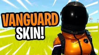 DARK VANGUARD SKIN in Fortnite Battle Royale | #ROADTO60K