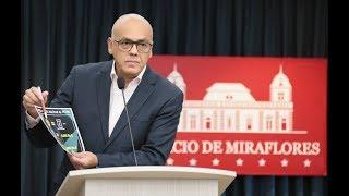 Jorge Rodríguez, rueda de prensa completa, 18 agosto 2018 sobre anuncios de Maduro