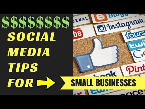 ➫5 PROFITABLE Social Media Tips for Small Businesses