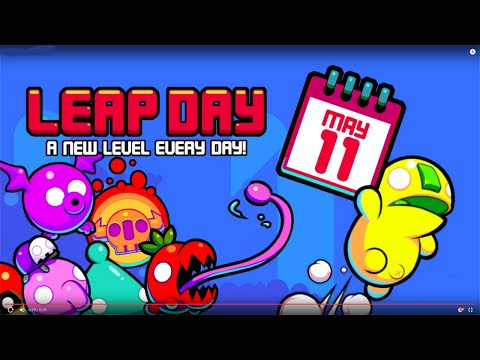 Leap Day (by Nitrome) - iOS / Android - HD Gameplay Trailer