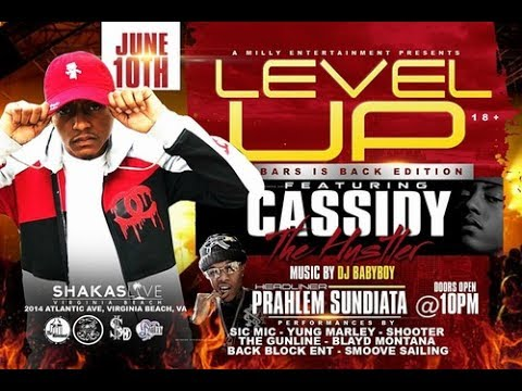 Cassidy performed live at SHAKA'S HIP-HOP  SHOWCASE in Virginia Beach (BARS ARE BACK)