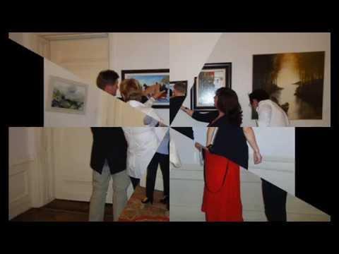 Mona Youssef Fine Artist - Memories of Vienna - Moya Art Museum