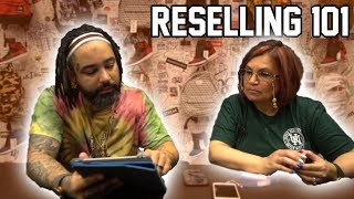 RESELLING 101 - SO EASY MY MOM CAN DO IT (TEACHING MY MOTHER HOW TO BUY AND FLIP SHOES)
