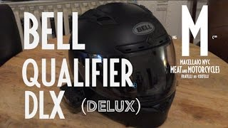 Bell Qualifier DLX Helmet Review on Moto Guzzi V7 Stone. Meat and Motorcycles