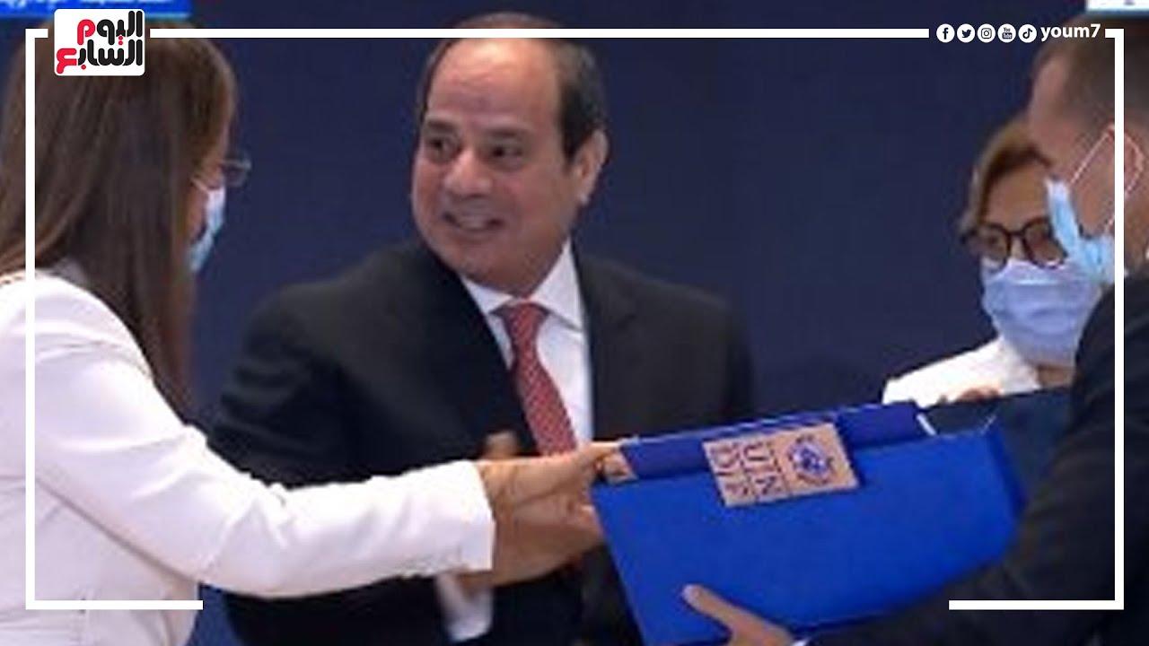 هام ? الرئيس السيسى يتسلم تقرير الأمم المتحدة للتنمية البشرية فى مصر  - 12:54-2021 / 9 / 14