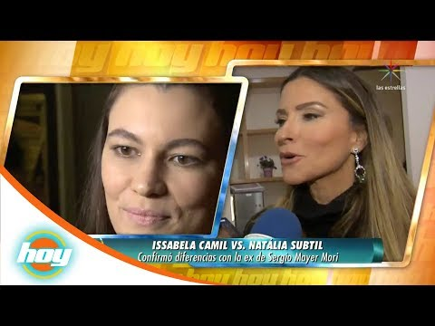 Issabela Camil confirma diferencias con ex de Sergio Mayer Mori | Hoy