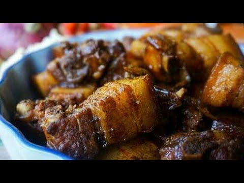 How to cook adobong baboy