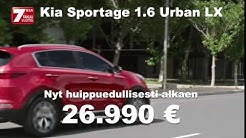 J.Rinta-Jouppi Tikkurila Kia Sportage Urban LX (26 990€)